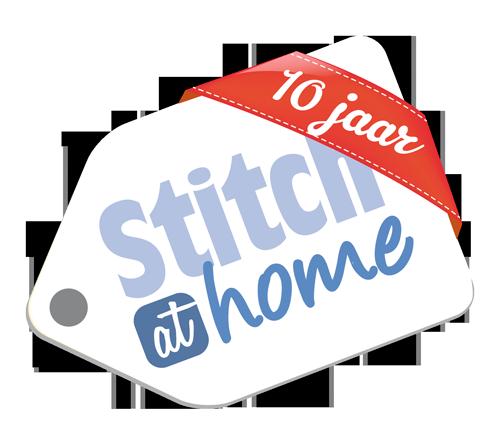 Logo StitchatHome 10 jaar