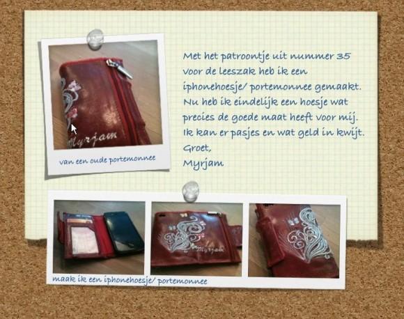 iphone hoesje en portemonnee