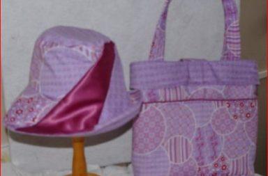 zonnehoed met bijpassend tas